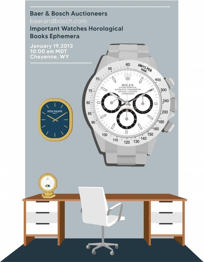 Important Watches Horological Books Ephemera January 19, 2013 Auction Catalog - Baer & Bosch Auctioneers