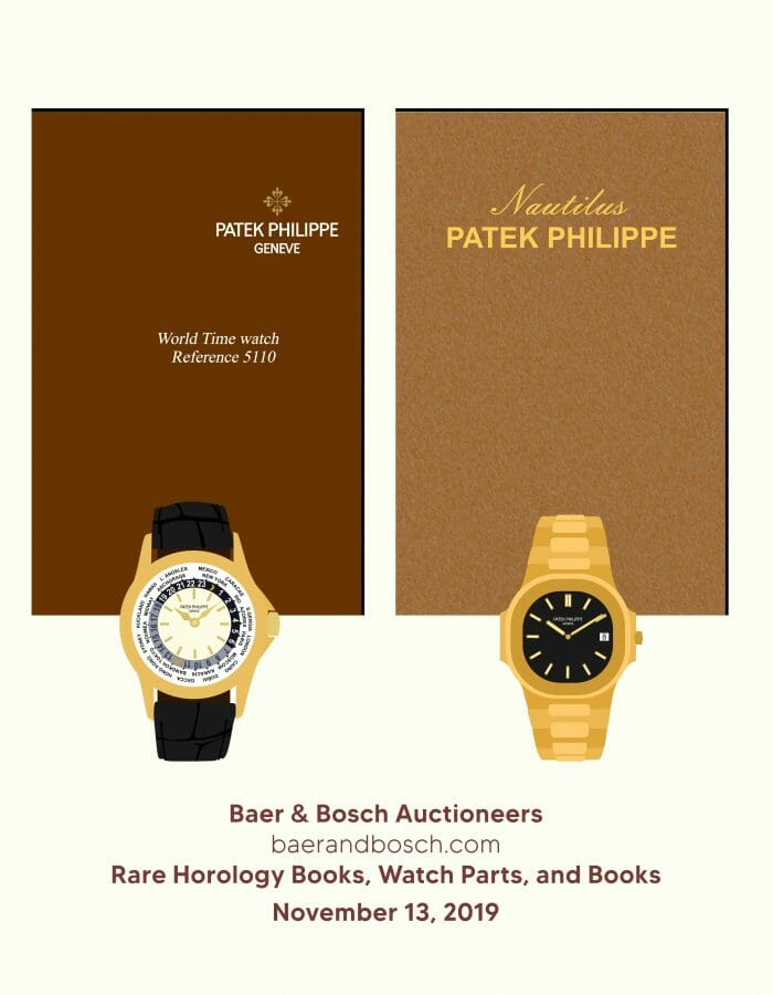 Rare Horology Books, Watch Parts, and Books
