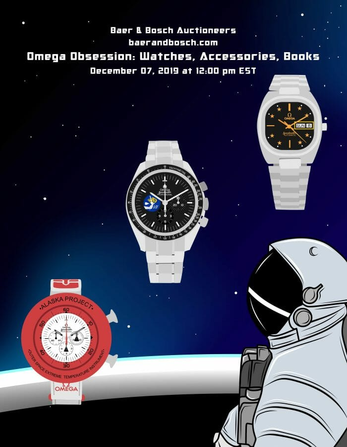 Omega Obsession: Watches, Accessories, Books